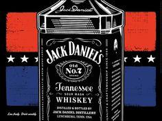 Jack Daniel's #whiskey #print #design #poster
