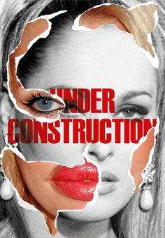 Plastic Fantastic Poster by Niermala B. Timmers #surgery #mutilation #shocking #lips #gender #eye #before #botox #famous #ruin #design #operation #human #identity #poster #face #collage #female #after #modification #reality #rotterdam #ad #and #typography #timmers #celebrity #destroyed #graphic #niermala #plastic #ugly