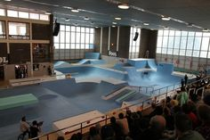 Nike 6.0 The Pool Gallery | Rampworx Skatepark #pool #nike #london #dagenham