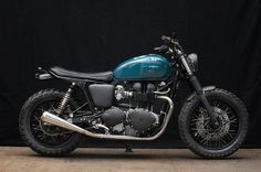 MONKEE #68 - Triumph Thruxton #bike #motorbike #custom #beauty #motorcycle