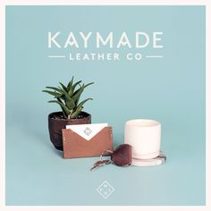 Other Studio - Kaymade Leather Co #branding #leather
