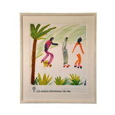 Framed and Signed Poster by David Hockney #david #hockney