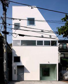 Toll House by Atelier Hako Architects #modern #design #minimalism #minimal #leibal #minimalist