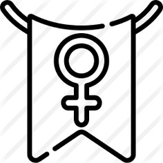 See more icon inspiration related to shapes and symbols, womens day, feminism, garland, gender, pennant, female, flags, women and flag on Flaticon.