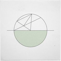 #265 Stuck on the moon – A new minimal geometric composition each day