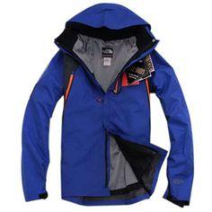 North Face Recco Jacket Blue-Mens