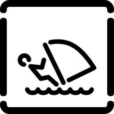 windsurf, via Flickr. #iconography #icon #sign #icons #symbols #signs