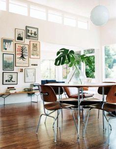 Merde! - Interior design #interior design #wood #white #clean