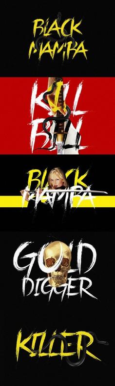 Black Mamba Brush Font