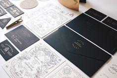 ODDDS studio via www.mr-cup.com #oddds #branding #stationery