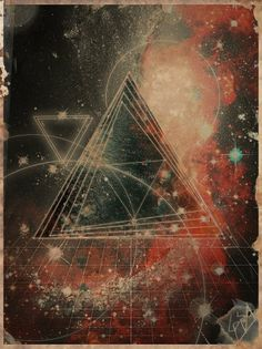 Space by ~Otavio-AZD on deviantART #space #retro #vintage #geometric