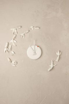 Goldfish Stream Clock, Anthropologie