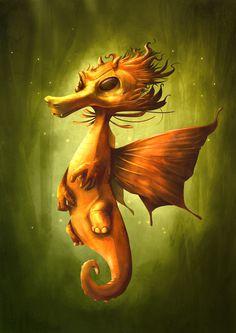 Dragon on Behance by Kristof Van Beversluys