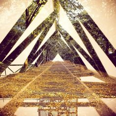 All sizes | Pathway // Ladder. | Flickr - Photo Sharing! #photography #double exposure