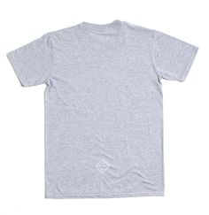 MISC THINGS — ISO — Grigio melange — (S,M,L) http://miscthings.tictail.com #melange #print #screen #printing #t-shirt #iso #grey