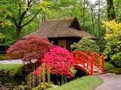 japanese gardens / www.homeworlddesign.com #garden #japanese