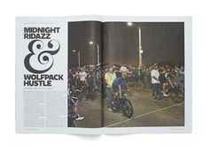 #magazine #editorial #layout