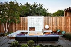 fire place, Feldman Architecture