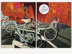 I Love Dust #bicycles #illustration #ilovedust
