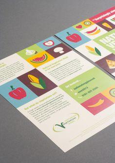 National Vegetarian Week | Print | Our Work | Creative Spark #vegetarian #illustration #creative spark