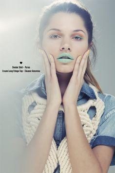 Love Heart   Volt Café   by Volt Magazine #make #design #graphic #volt #colors #up #fashion #voltcafe #editorial #magazine
