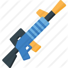 See more icon inspiration related to assault rifle, fortnite, rifle, miscellaneous, gaming, weapons and weapon on Flaticon.