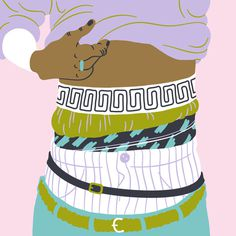 Layers, Sara Andreasson #layers #andreasson #illustration #sara