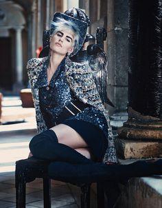 Saskia de Brauw by Craig McDean for W Magazine #model #girl #photography #fashion #winter