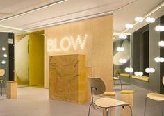 studio david thulstrup: blow hair salon in copenhagen #interior