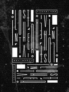 u v e e #white #black #poster #and #type #typography