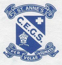 St Anne\'s CEGS Townsville School Crest