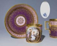 Image, Cup, Saucer #Sets #Teasets #Porcelainsets #Antiqueplates #Plates #Wallplates #Figures #Porcelainfigurines #porcelain
