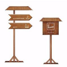 Scenic spot wayfinding | Signage | Sign Design | Wayfinding | Wayfinding signage | 著名景区环境导视设计