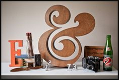 Typeverything.com -Â Ugmonk PREMIUM WOOD AMPERSAND... - Typeverything #typography