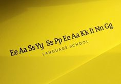 Easy speaking on the Behance Network #logotype #branding #language school