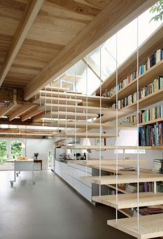 CJWHO ™ (House G by Maxwan Architects #design #interiors #wood #architecture #stairs