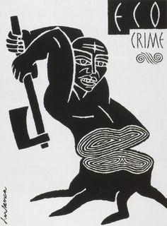 """Eco Crime"" Luba Lukova, 1994"