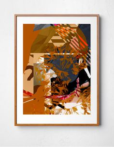 Art Print by Benjamin Savignac #design #art #contemporary #modern #print #abstract #savignac www.savignacillustrations.com