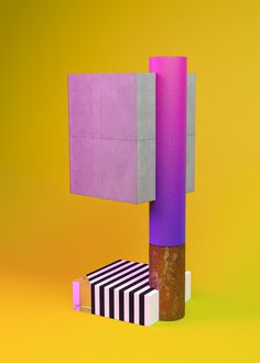 Complements #4 #art #abstract #colorful #set #setdesign #stilllife #gold #marble