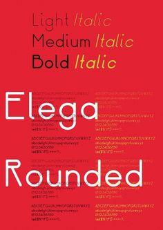 Neal Fletcher — Portfolio #specimen #neal #design #fletcher #elega #poster #type #typo #typography