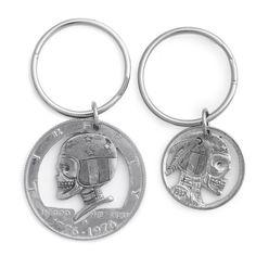 Cap'n America Hobo Key Fob by Silver Piston #moto #skull