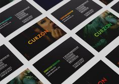 The Plant #branding #design #curzon #cinema #identity #gradient #logo #layout #colour #editorial