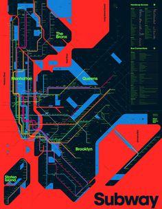 nye, subway map