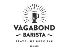 Dribbble - Vagabond Barista by Marco Suarez #coffee #logo #vintage #branding