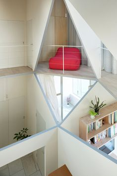 House with a Hexagonal Void