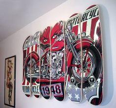 Área Visual: Los diseños de David Vicente #design #graphic #skate #ilustration #art #tatoo