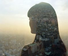 FFFFOUND! | Jasper James: People And Places Series | TrendLand -> Fashion Blog & Trend Magazine #photography #double #exposure