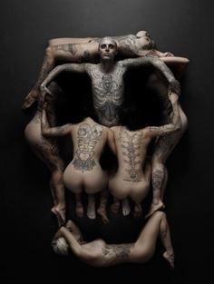 humans skull