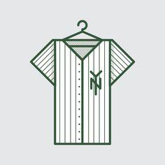 New York Yankees illustration - www.lucasjubb.co.uk