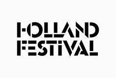 Holland Festival by Thonik #logo #logotype #typography